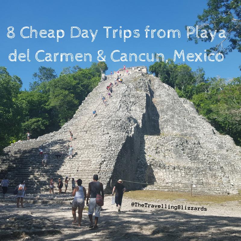Bien-aimé 8 Cheap Day Trips from Playa del Carmen & Cancun, Mexico - The  HZ49